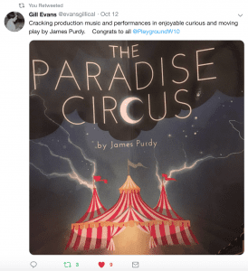 The Paradise Circus review - Cracking production