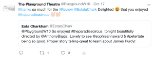 Esta review - The Paradise Circus is beautifully directed