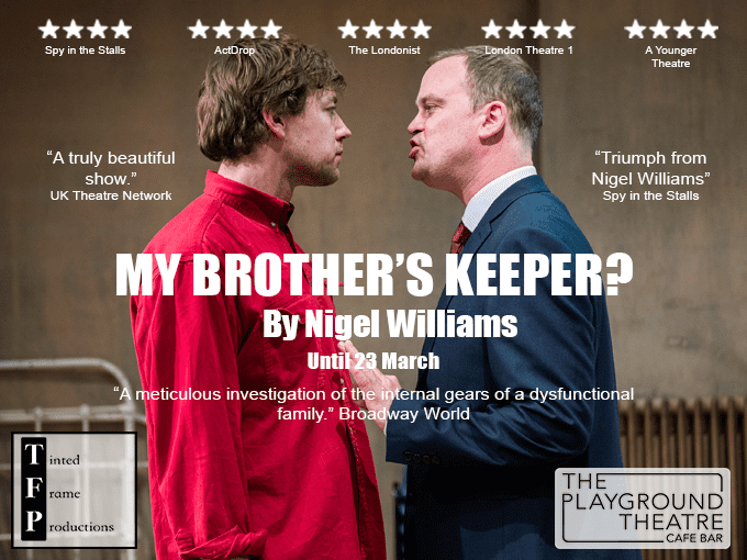 My Brother's Keeper? BOOK tickets
